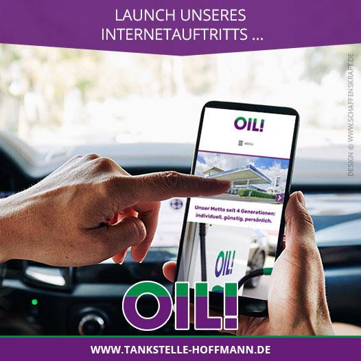 Launch unseres Internetauftritts